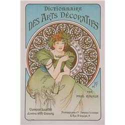 Dictionnaire des arts Décoratifs, Alphonse Mucha