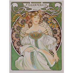 F. Champenois Imprimeur-Editeur, Alphonse Mucha