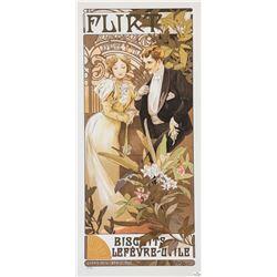 Flirt - LeFevre Utile, Alphonse Mucha