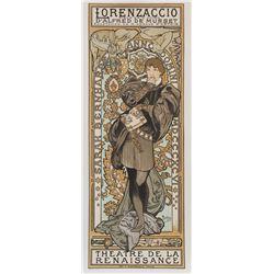 Lorenzaccio, Alphonse Mucha