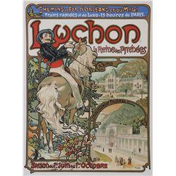 Luchon, Alphonse Mucha