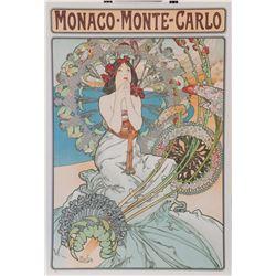 Monaco-Monte Carlo, Alphonse Mucha