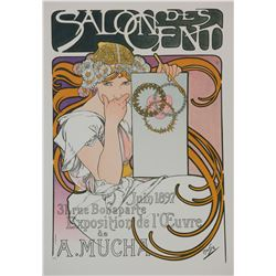 Salon des Cent (1897), Alphonse Mucha