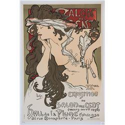 Salon des Cent XX Eme Exposition, Alphonse Mucha
