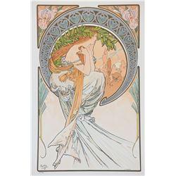 The Arts: Poetry, Alphonse Mucha
