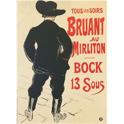 Bruant au Mirliton, Henri de Toulouse-Lautrec