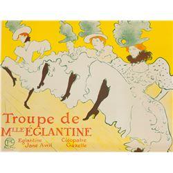 Troupe De Mlle Eglantine, Henri de Toulouse-Lautrec
