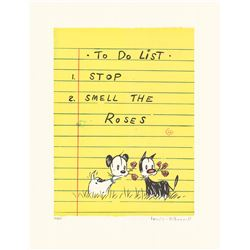 To Do List - Artist Proof