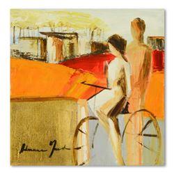 "Adriana Naveh ""Wonderful Days"" Original Acrylic Painting on Canvas"