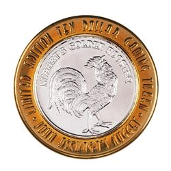.999 Fine Silver Nugget Casino Sparks, NV $10 Limited Edition Gaming Token
