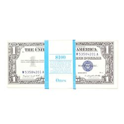 Pack of (100) Consecutive 1957A $1 Silver Certificate Notes
