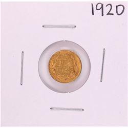1920 Mexico Dos Peso Gold Coin