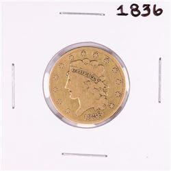 1836 $5 Classic Head Half Eagle Gold Coin