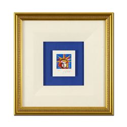 """Peter Max """"Liberty Head I"""" Limited Edition Lithograph"""