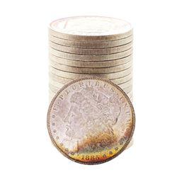 Roll of (20) Brilliant Uncirculated 1885-O $1 Morgan Silver Dollar Coins Amazing Toning
