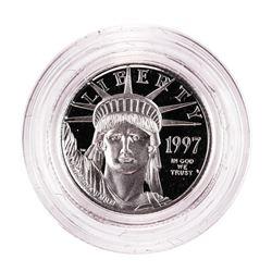 1997 $10 Proof American Platinum Eagle