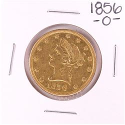 1856-O $10 Liberty Head Eagle Gold Coin