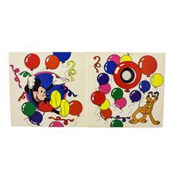 "Rarities Mint Disney Mickey ""Happy Birthday"" 1/10 oz. .999 Fine Silver Round"