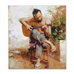 "Pino (1939-2010) ""The Gypsy"" Limited Edition Giclee on Canvas"