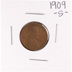 1909-S Lincoln Wheat Cent Coin