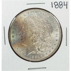 1884 $1 Morgan Silver Dollar Coin Nice Toning