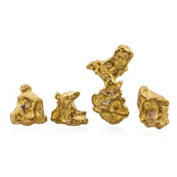 Lot of 2.76 Gram Total Weight Australian Gold Nuggets