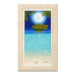 "Dan Mackin ""Starlight"" Original Oil Painting on Canvas"