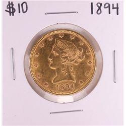 1893 $10 Liberty Head Eagle Coin