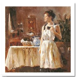 "Pino (1939-2010) ""Sunday Chores"" Limited Edition Giclee"