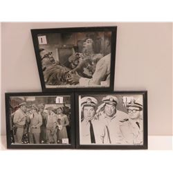 3 Lobby Cards Of McHales Navy 1948-1966