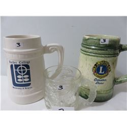 2 Steins (1) Lumsden Lions/Luther College/Mcdonalds Batman Forever Coffee Mug