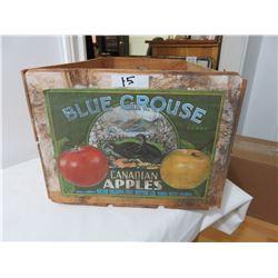 Blue Grouse Apple Box Vernon BC