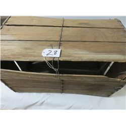 Live Chicken Carrier Box, Very Old