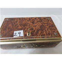 8x4 Metal Lock Box With Key That Works