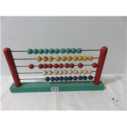 Old Style Abacus 13x6