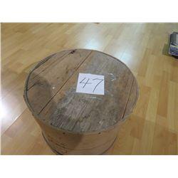 94 lb. Canadian Cheese Barrel
