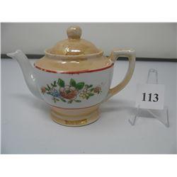 VINTAGE CHILDS DISH SET - Tea Pot - Cream and Sugar - Platter - 3 cups & Saucers & 6 Plates