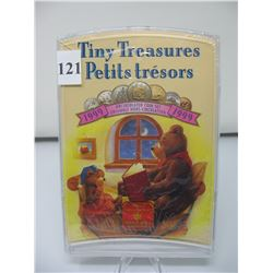 1999 CANADIAN TINY TREASURES COIN SET -  As sealed from the Mint