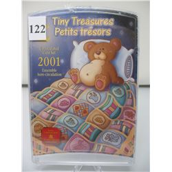 2001 CANADIAN TINY TREASURES COIN SET -  As sealed from the Mint