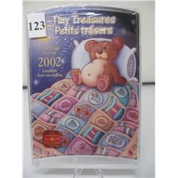 2002 CANADIAN TINY TREASURES COIN SET -  As sealed from the Mint