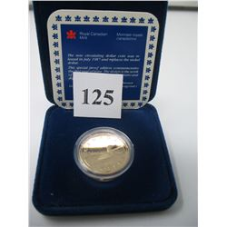 1987 CASED CANADIAN SPECIAL PROOF LOONIE