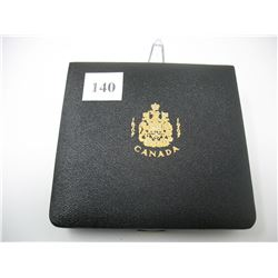 1967 CENTENNIAL DELUXE COIN SET IN CASE -  PLEASE NOTE - Does not include the $20 Gold Coin