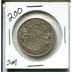 1953 Canada 50¢ fifty cent piece