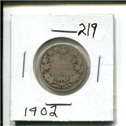 1902 Canada 25¢ twenty five 25 cents
