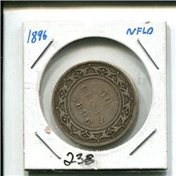 1896 Newfoundland 50 cents 50¢ fifty cent piece
