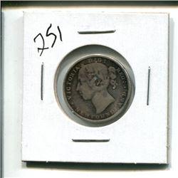 1888 Newfoundland 20 cent 20¢ twenty cents