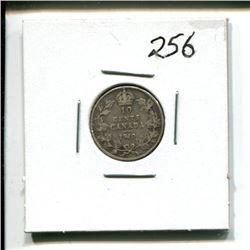 1910 Canada 10 cent 10¢ Ten cents