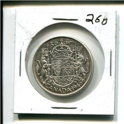 1946 Canada 50¢ fifty cents 50 cent