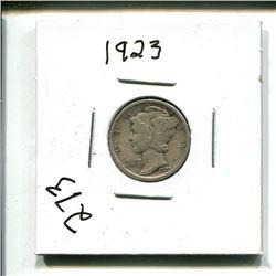 1923 USA 10 cents 10¢ ten cent