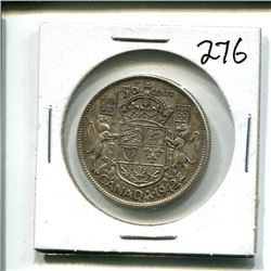 1942 Canada 50 cents 50¢ fifty cent